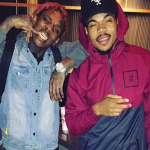 Famous Dex In The Studio With Chance The Rapper