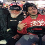 Fredo Santana Smokes With Tommy Chong At The Cannabis Cup