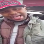 Johnny P From 'Do Or Die' Sings 'Po Pimp (Do You Wanna Ride)' On The Street