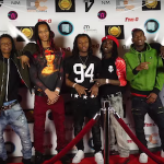 Allo, JP Armani, Pistol and Bravo (GMEBE) Live In Detroit At 'Five-0' Movie Premier