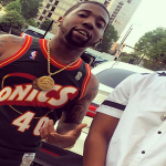 Rico Recklezz Links Up With YFN Lucci In Atlanta