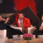 Drake Gets Scared On Ellen