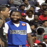 Lil Bibby and Lil Durk Play In Floyd Mayweather and Adrien Broner's Celebrity Basketball Game