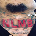 G Herbo Fan Gets Huge NLMB Tattoo On His Neck