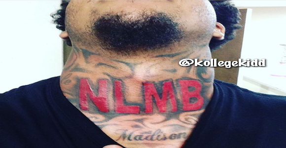 G Herbo Fan Gets Huge NLMB Tattoo On His Neck | Welcome To