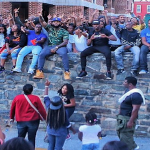 The Game Passes Out $100 Bills In Baltimore Projects