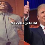 Rico Recklezz Supports Donald Trump