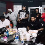 Lil Durk Leaves Los Angeles For Atlanta