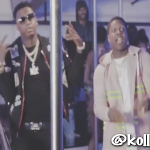 Lil Durk and Moneybagg Yo Film 'Like A Uzi' In Strip Club (Behind The Scenes)