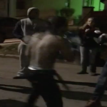 Detroit Rapper Snap Dogg Boxes Gang In The Street