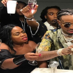 Migos Quavo Celebrates 26th Birthday In Miami, Offset Gifts Him With Diamond Watch