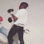 Lil Uzi Vert Shows His Rage While Boxing