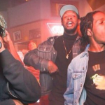 Lil Uzi Vert and Asap Rocky Freestyle Over Metro Boomin Beat