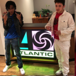 YBN Nahmir Visits Atlantic Records