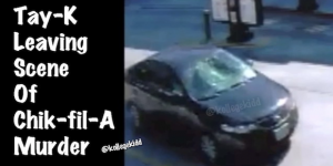 San Antonio Police Release Surveillance Footage Of Tay-K Leaving Scene Of Chik-fil-A Murder