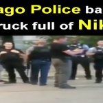Chicago Police Bait Kids With Truck Full Of Nikes