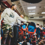 Meek Mill Donates 6k Backpacks Full of School Supplies To Philly Students