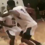 The Game Gets Into Fight At Basketball Game
