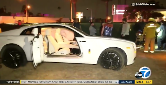 Post Malone Gets Into Car Accident In La Welcome To Kollegekidd Com